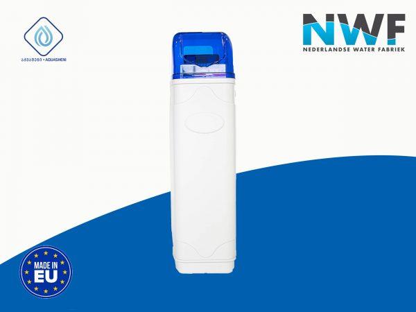 წყლის დამარბილებელი ავტომატიზირებული ფილტრი აცლის წყალს სიხისტეს.(მაგნიუმის და კალცოუმის იონებს და ანაცვლებს სოდიუმის იონებით)
