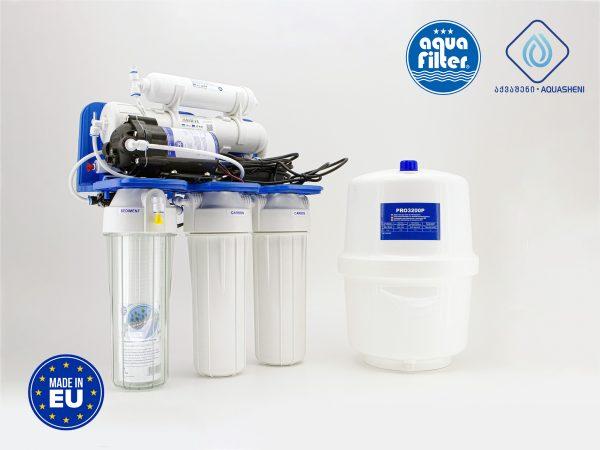 სასმელი წყლის უკუოსმოსის სისტემა