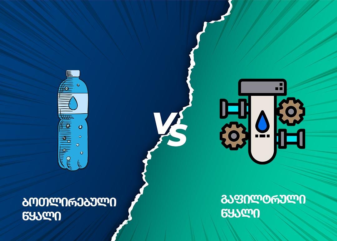 ნაყიდ წყალს სვამ? წაიკითხე და დაზოგე ფინანსები